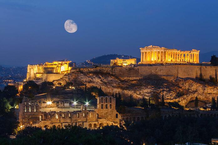 acropole athenes grece