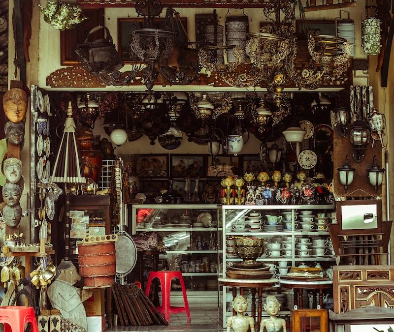 boutique souvenir de voyage