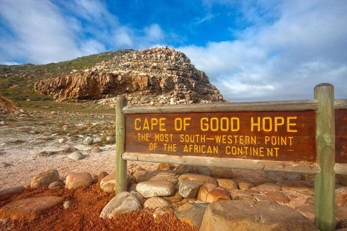cap de bonne esperance afrique du sud