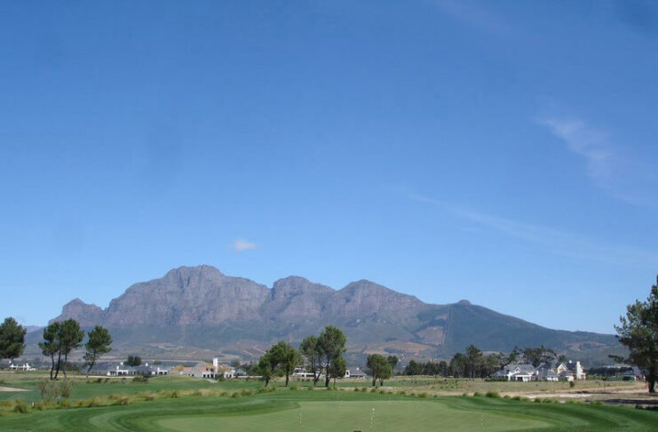 cape winelands afrique du sud