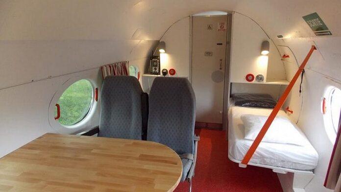dormir dans un avion en france