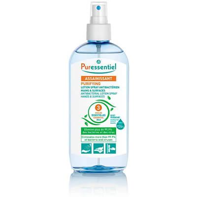 gel désinfectant anti-bactérien