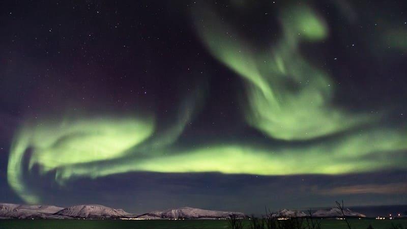 insolite aurore boreale