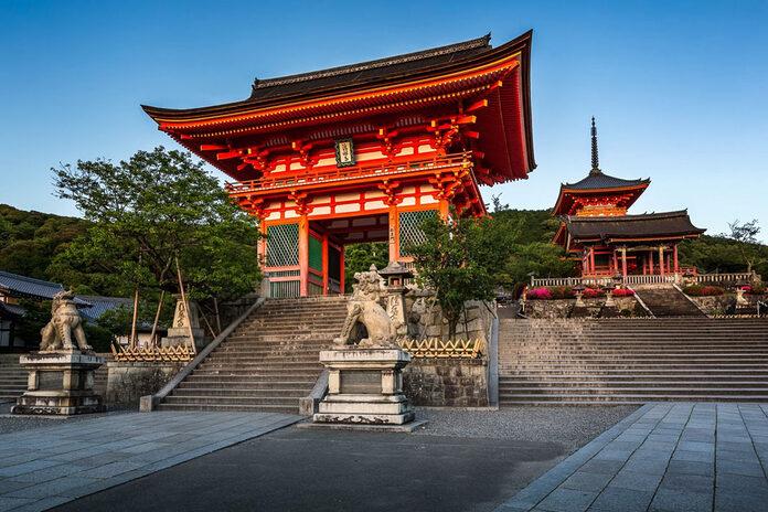 kiyomizu dera kyoto japon