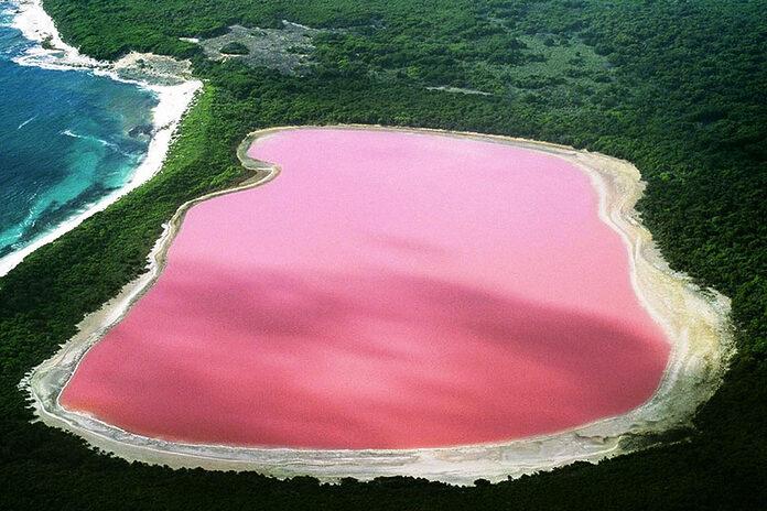 lac hillier australie