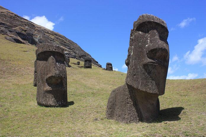 moai ile paques chili