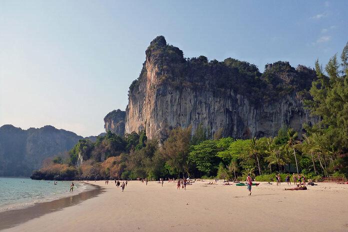railay beach thailande