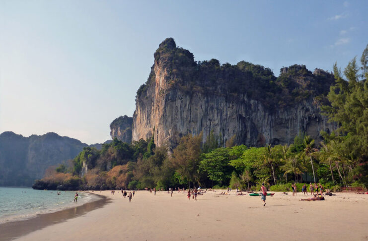 railay beach thailande