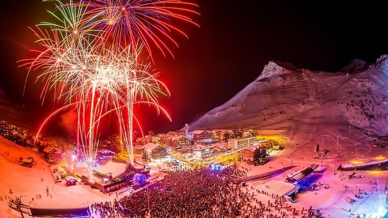idée insolite jour de l'an ski