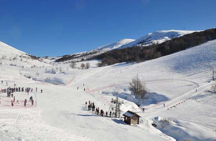 skier dans le monde corse val ese