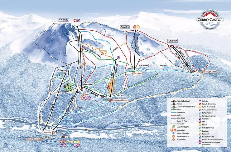 skier ushuaia argentine