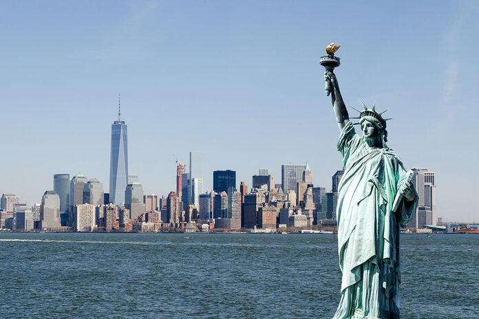 statue liberte new york usa etats unis