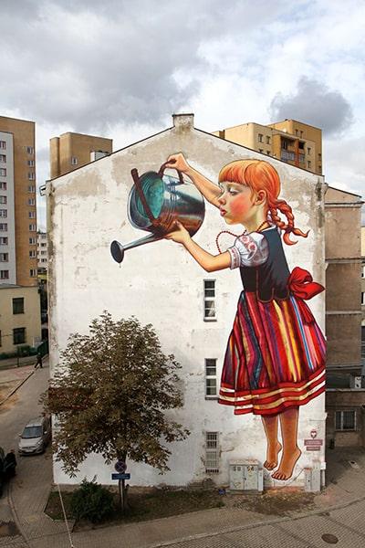 street art natalia rak