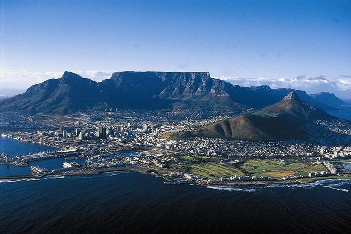 table mountain le cap afrique du sud