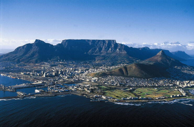table mountain le cap afrique du sud