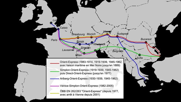 voyage en train orient-express