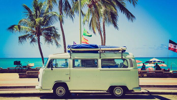 voyage en camping car van