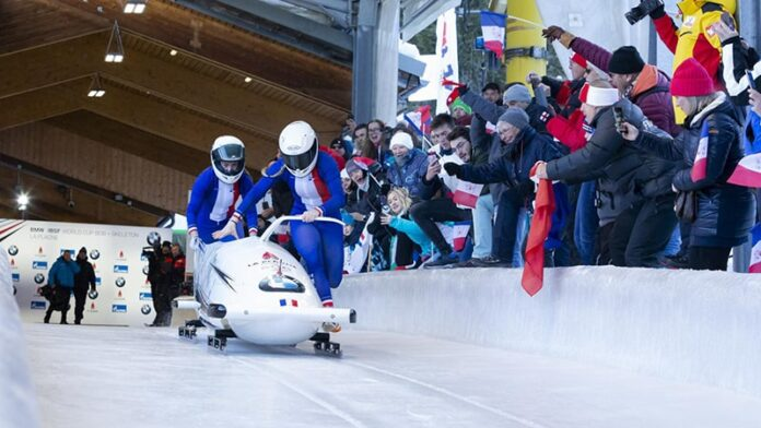week-end bobsleigh france