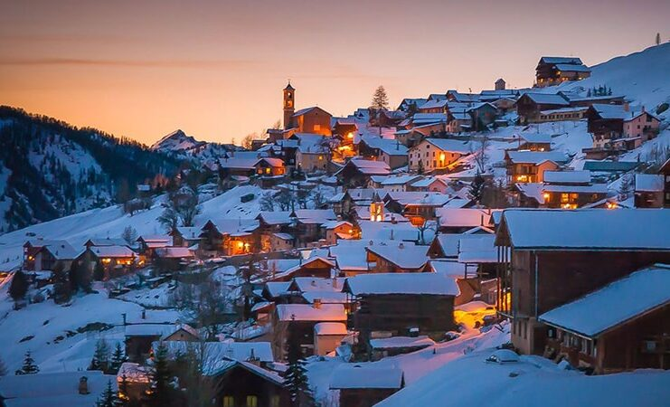 week-end plus haut village europe
